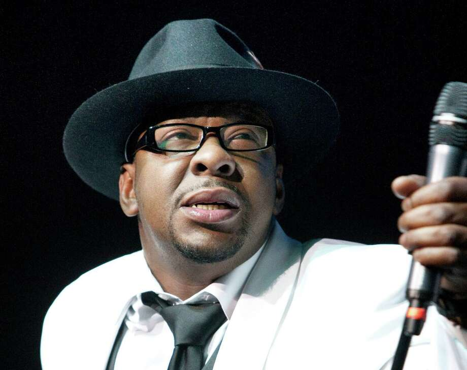 FILE - In this Feb. 18, 2012 file photo, singer Bobby Brown, former husband of the late Whitney Houston performs at Mohegan Sun Casino in Uncasville, Conn.  Brown is scheduled to turn himself in today, March 20,2013 to begin serving a 55-day jail sentence for DUI.  (AP Photo/Joe Giblin, File) Photo: Joe Giblin