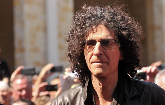 Howard Stern arrives on the red carpet in front of the Lila Cockrell Theater for a taping of the television show America's Got Talent Wednesday. Photo: Robin Jerstad