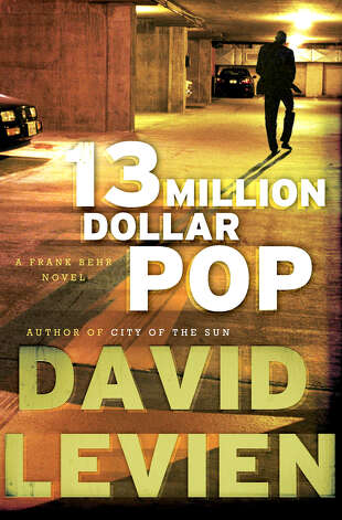 "The third book in David Levien's crime series featuring an Indianapolis-based private investigator named Frank Behr is ""13 Million Dollar Pop.""   The fourth installment of the series, ""Whiskey Foxtrot,"" should be come out by the end of this year. Photo: Contributed Photo"