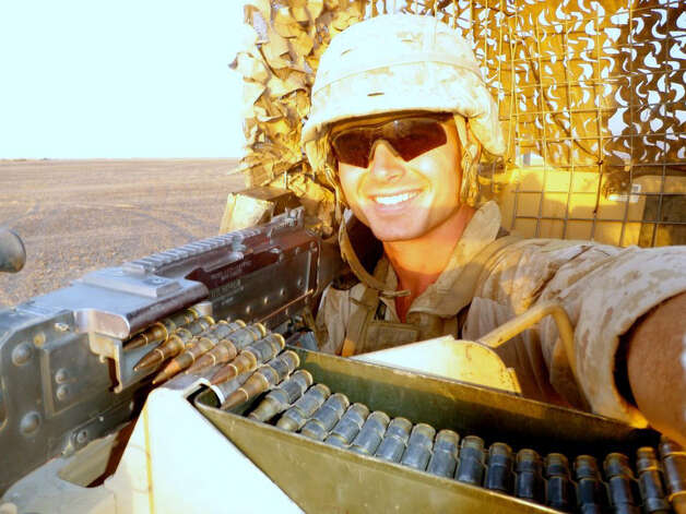 Marine Roger Muchnick, 23, was killed with 6 other Marines after a mortar shell exploded during a training exercise at the Hawthorne, Nev., Army Depot, on Monday. Muchnick, a 2008 graduate of Staples High School, in Westport, was a member of the 2nd Marine Expeditionary Force from Camp Lejeune, N.C., Photo: Contributed Photo
