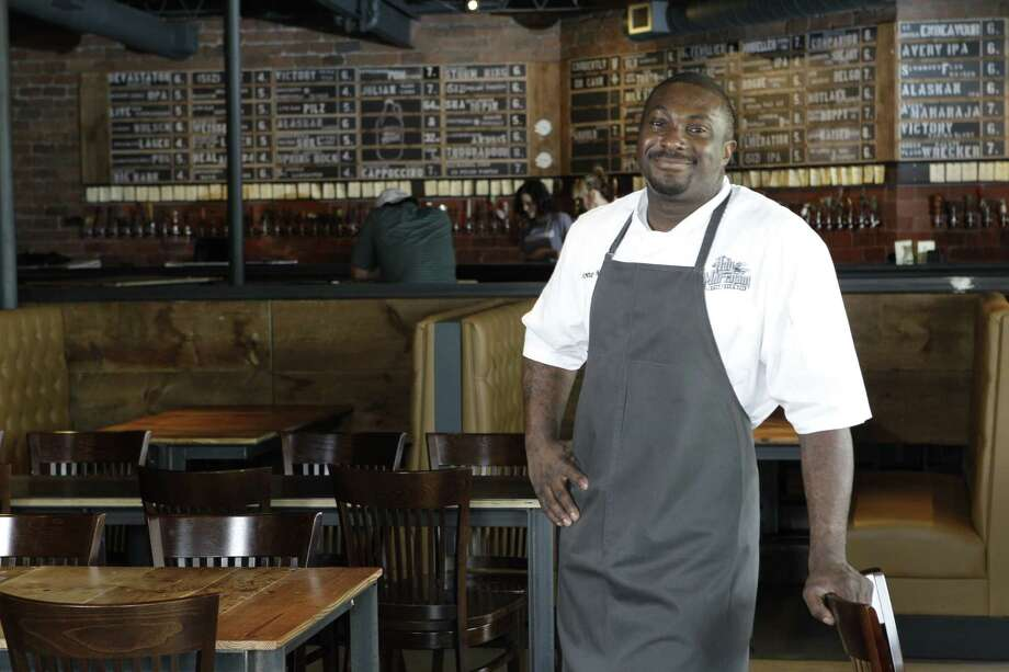 Chef Antoine Ware is leaving the Hay Merchant. Photo: Melissa Phillip, Staff / © 2012 Houston Chronicle