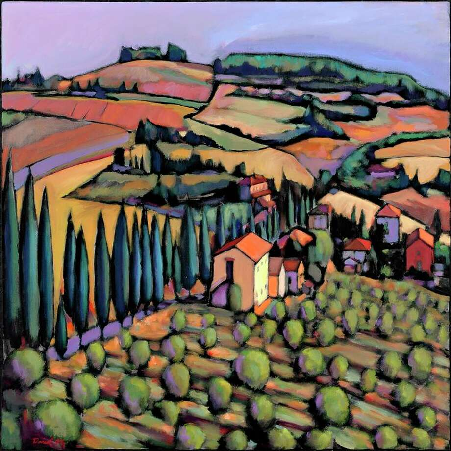 Olive Grove Tuscany by Daniel Ng Photo: Handout