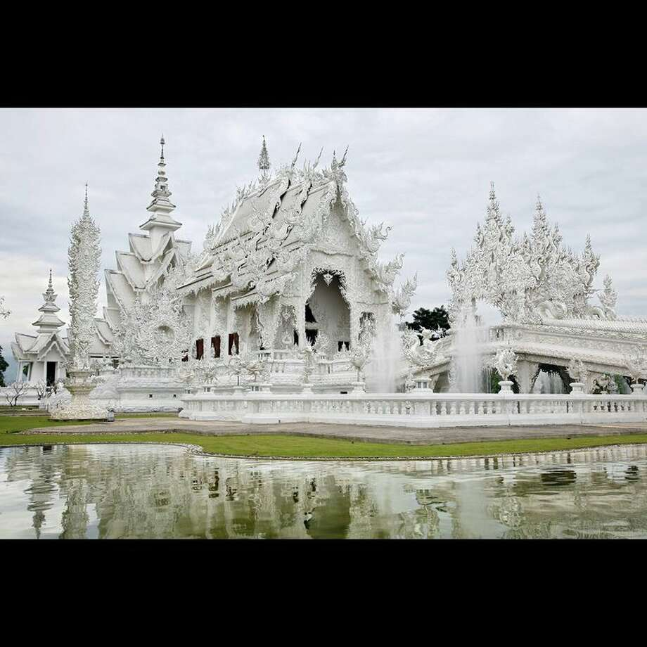 More than 1,000 artists applied to be in the spring Bayou City Art Festival in Memorial Park. The jury's top 300 scoring artists were invited to participate March 22-24. Get to know one of the artists and the unique art at houstonchronicle.com. The White Temple by Marius Moore Photo: Handout