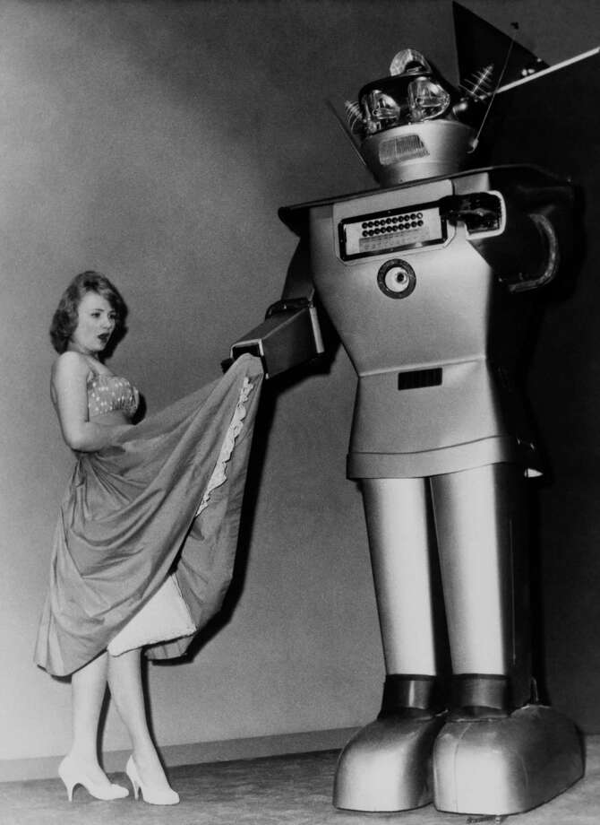 Now for run through our early ideas of robots (at least the ones we found images for) and then onto our modern visions and versions of them. Photo: KEYSTONE FRANCE, Getty / KEYSTONE FRANCE