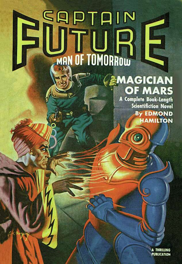 Captain Future Fires at the Magician of Mars Photo: Buyenlarge, Getty / Archive Photos