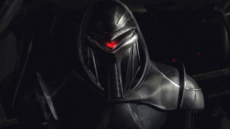 A villainous robot from Battlestar Galactica in 2005. Photo: Syfy, Getty / ? NBC Universal, Inc.