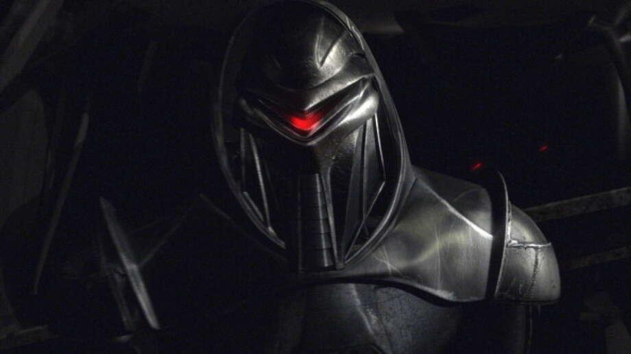 A villainous robot from Battlestar Galactica in 2005. Photo: Syfy, Getty / ? NBC Universal, Inc.