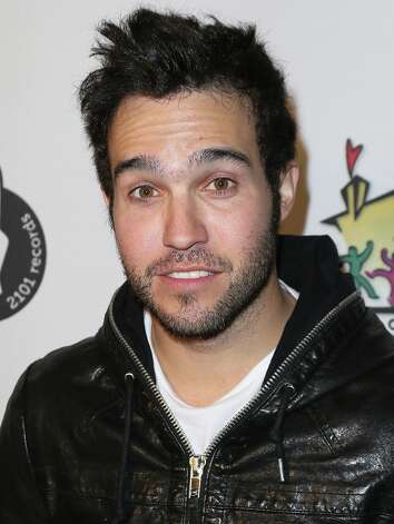 Fall Out Boy musician Pete Wentz was left red-faced after revealing photos of him were leaked after his Sidekick was hacked into. Photo: David Livingston, Getty Images / 2013 David Livingston