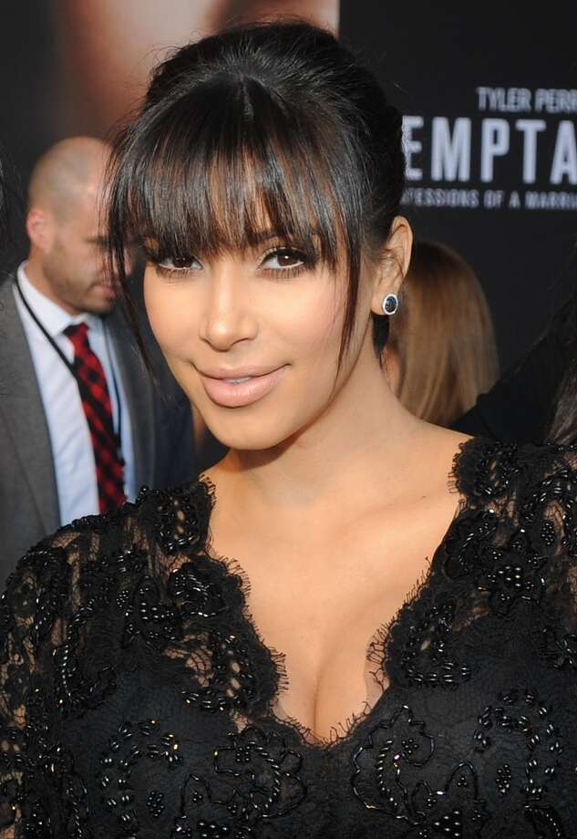 Kim Kardashian also was introduced to America when her sex tape with Ray J was leaked in 2007. Photo: Chris McKay, WireImage / 2013 Chris McKay