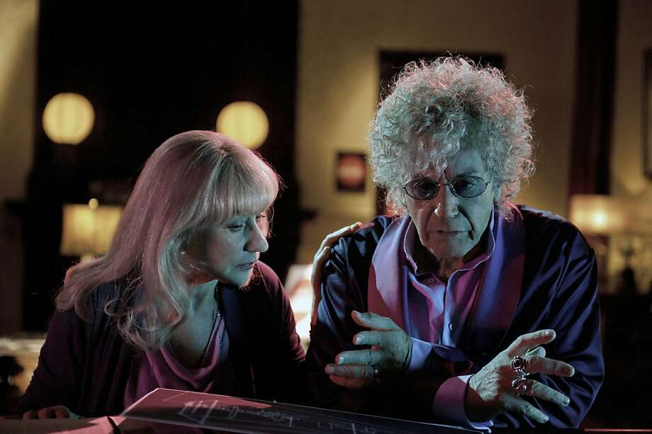PHIL SPECTOR: Helen Mirren, Al Pacino. Photo: Phillip V. Caruso, HBO