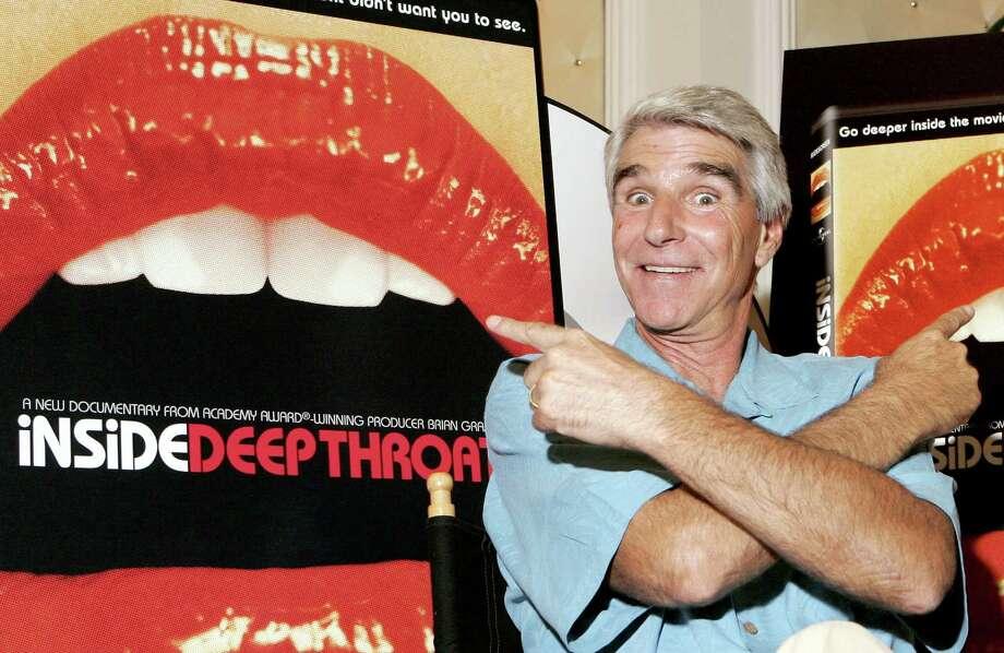 Former adult film star Harry Reems starred in 'Deep Throat.'