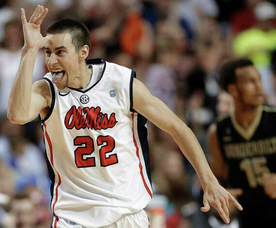 Welcome to the Big Top Mississippi has become must-see TV since the emergence of Marshall Henderson, a free-spirited gunner with over-the-top reactions that must be seen to be believed. He single-handedly makes the Rebels, the surprise SEC tournament champs, a team to watch. Photo: John Bazemore, Associated Press / AP