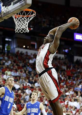 detailed look 3c63b 96490 UNLV s Anthony Bennett dunks against Air Force during the second half of a  Mountain West Conference