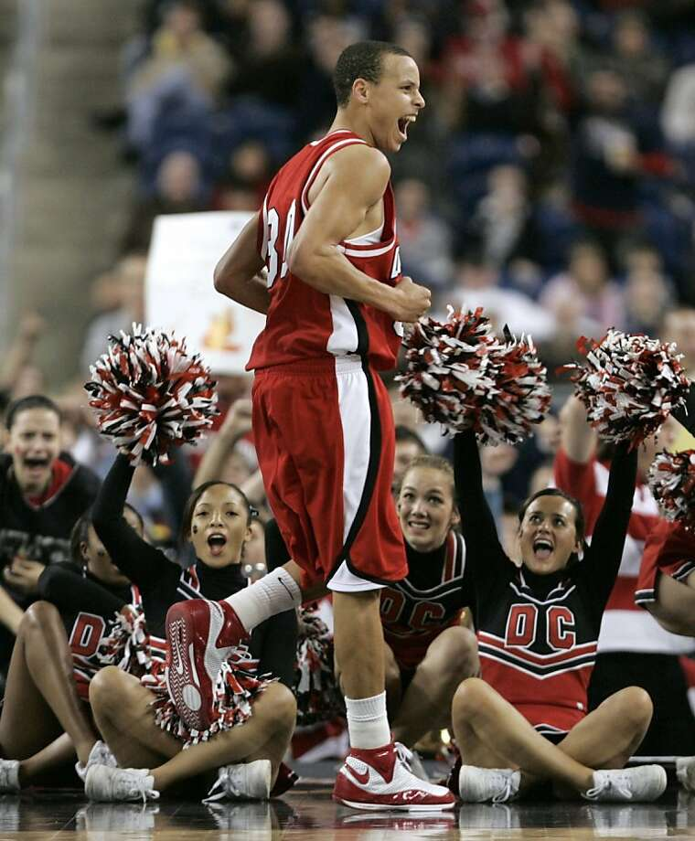Stephen Curry made a name for himself during Davidson's Cinderella run to the Elite Eight in 2008, and the Warriors took notice, making him a lottery pick in 2009. Photo: John Gress, REUTERS
