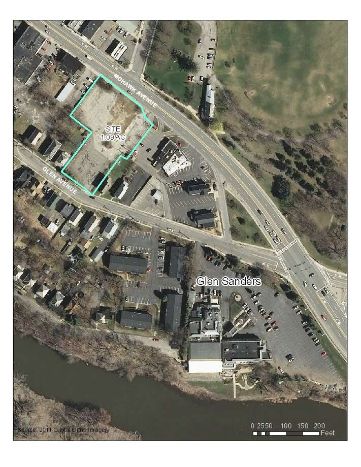 Image provided by Metroplex shows the McDonald's property and the Glens Sanders restaurant in Scotia.