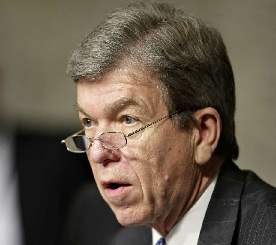 Sen. Roy Blunt, R-Mo., said food prices would go up if meat inspectors were furloughed. Photo: Associated Press File Photo
