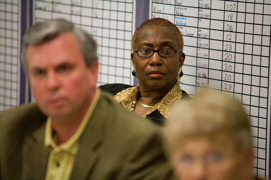 Mabel Caleb, shown in 2010, was a principal at Key Middle and Kashmere High. (Nick de la Torre/Chronicle). Photo: Nick De La Torre, Staff / Houston Chronicle