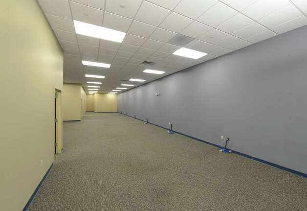 Interior view of the available space March 20, 2013,  at the STEP building at the tech park in Malta, N.Y. (Skip Dickstein/Times Union) Photo: SKIP DICKSTEIN / 10021636A