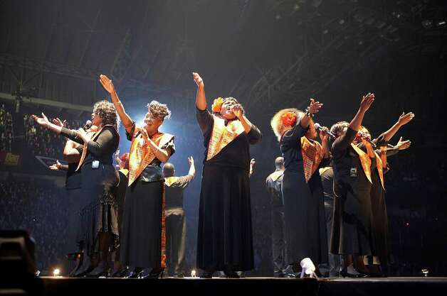 The Harlem Gospel Choir is one of the main-stage performers at the 2013 Greenwich Town Party, which is scheduled for May 25 at Roger Sherman Baldwin Park. Photo: Contributed Photo
