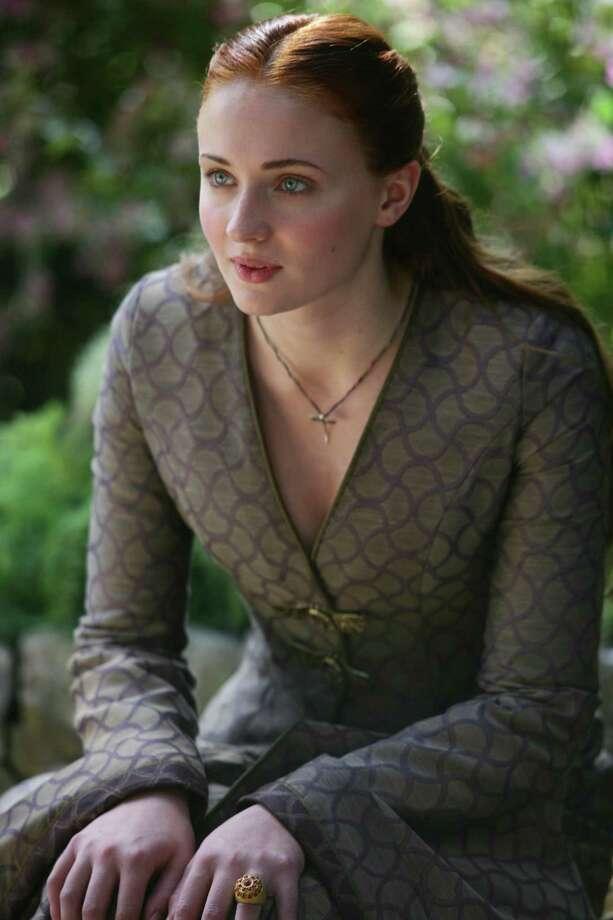 """Sophie Turner as """"Sansa Stark"""" in season 3, episode 10. Photo: Keith Bernstein / Keith Bernstein"""