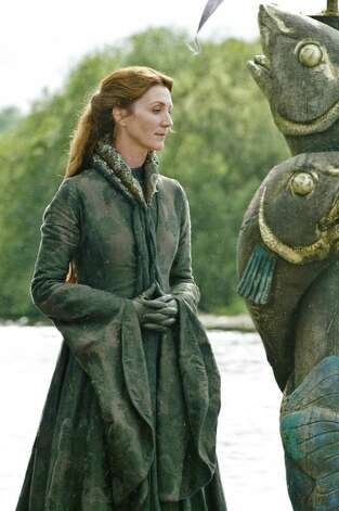 "Michelle Fairley as ""Catelyn Stark"" in season 3, episode 3. Photo: Helen Sloan / Helen Sloan"