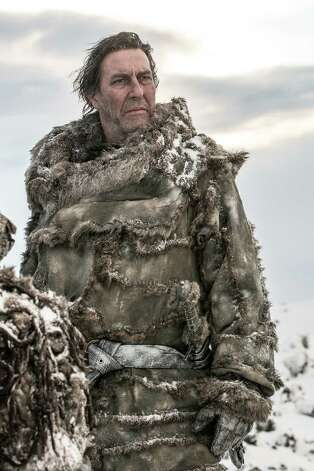 "New cast member Ciaran Hinds as ""Mance Rayder"" in season 3, episode 2. Photo: Helen Sloan / Helen Sloan"