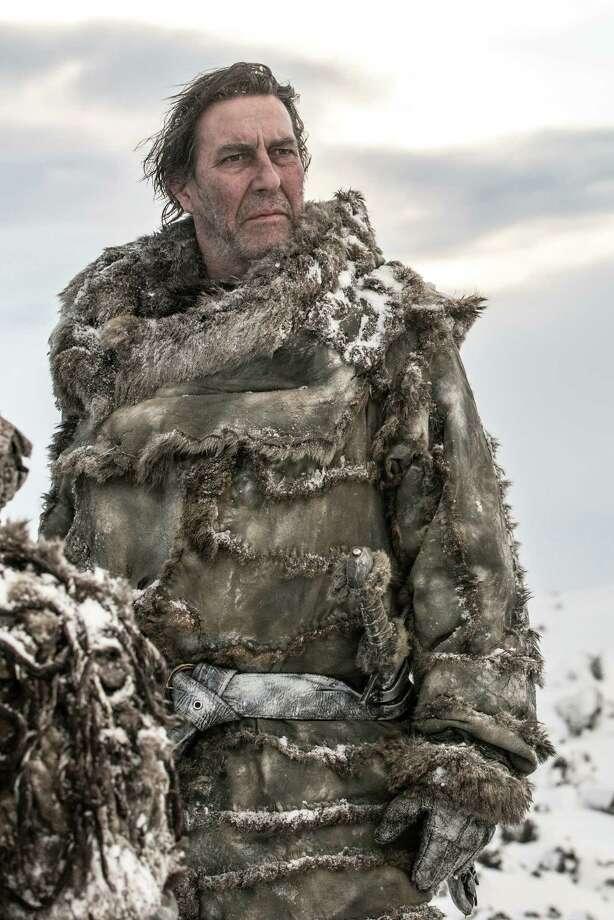 """New cast member Ciaran Hinds as """"Mance Rayder"""" in season 3, episode 2. Photo: Helen Sloan / Helen Sloan"""