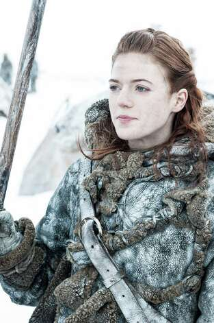 "Rose Leslie as ""Ygritte"" in the opening episode of season 3. Photo: Helen Sloan / Helen Sloan"
