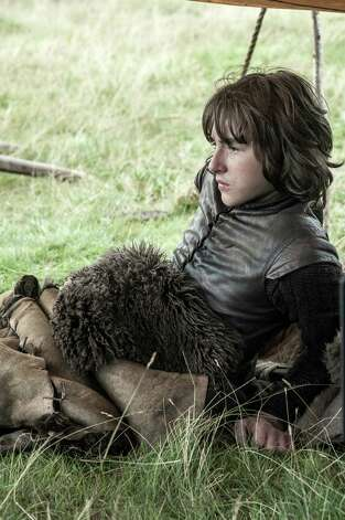 "Isaac Hempstead Wright as ""Bran Stark"" in the opening episode of season 3. Photo: Helen Sloan / Helen Sloan"