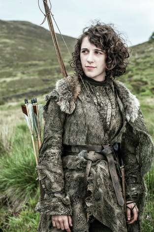 "New cast member Ellie Kendrick as ""Meera Reed"" in the first episode of season 3. Photo: Helen Sloan / Helen Sloan"
