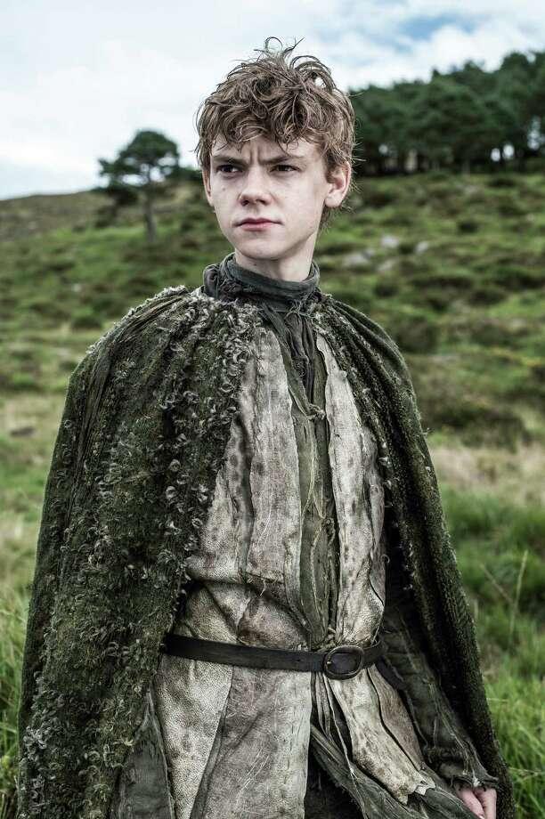 """New cast member Thomas Brodie-Sangster as """"Jojen Reed"""" in the first episode of season 3. Photo: Helen Sloan / Helen Sloan"""
