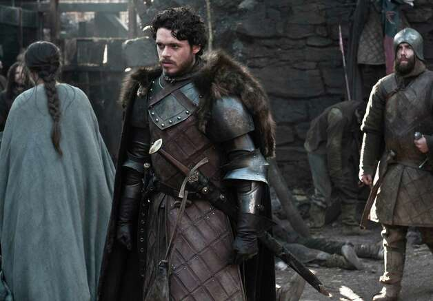 "Richard Madden as ""Robb Stark"" in the first episode of season 3. Photo: Helen Sloan / Helen Sloan"