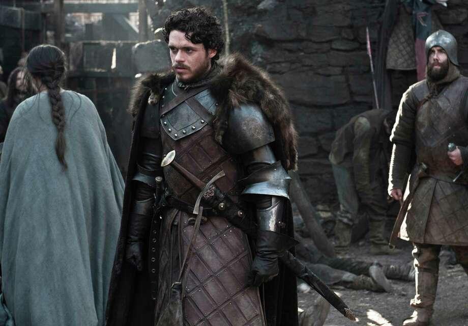 "Richard Madden as ""Robb Stark"" in the first episode of season 3. Photo: Helen Sloan / Helen Sloan"