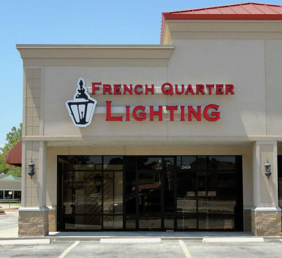 French Quarter Lanterns is located on I-45 North, in Spring.