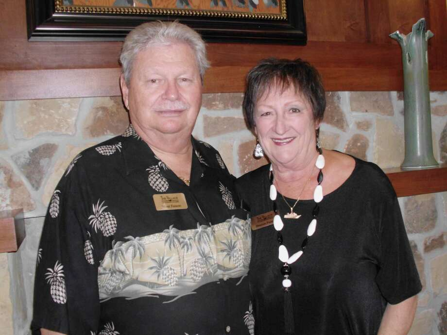 Sharon Faison, seen here with her husband of 31 years, West Faison, served as Nacogdoches County's first female deputy sheriff. / Copyright 2009