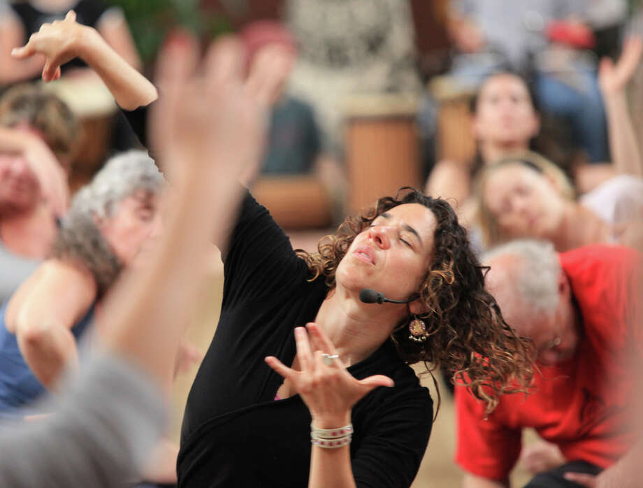 Noon dance at Kripalu Photo: Contributed Photo / Connecticut Post Contributed