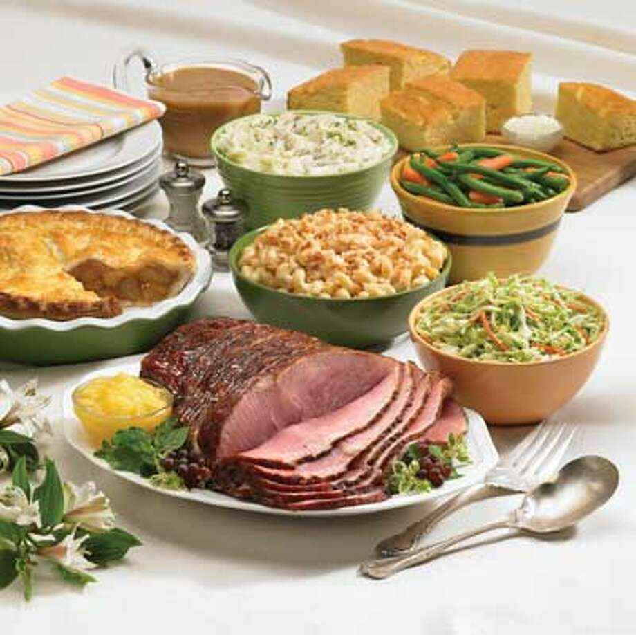 Marie Callender's,4788 NW Loop 410, 210-680-4257, and 8450 I-35 N., 210-967-8781, offers brunch and a ham dinner.