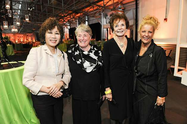 Melly Metcalf, Ann Ford, Nancy Trogman and Judy Ranzer at the San Francisco SPCA's Bark & Whine Ball 2013. Photo: Drew Altizer Photography