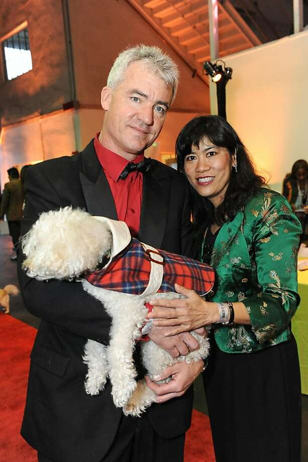 Tony Godkin and Loretta Wong at the San Francisco SPCA's Bark & Whine Ball 2013. Photo: Drew Altizer Photography