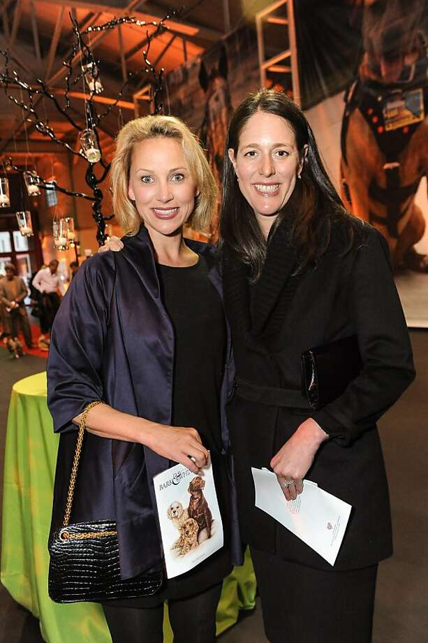 Shelly Gordon and Lisa Tarter at the San Francisco SPCA's Bark & Whine Ball 2013. Photo: Drew Altizer Photography