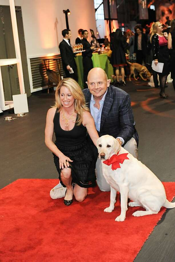 Beth and Don James at the San Francisco SPCA's Bark & Whine Ball 2013. Photo: Drew Altizer Photography