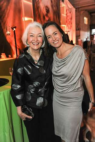 Evelyn Carr and Rebecca Eaton at the San Francisco SPCA's Bark & Whine Ball 2013. Photo: Drew Altizer Photography