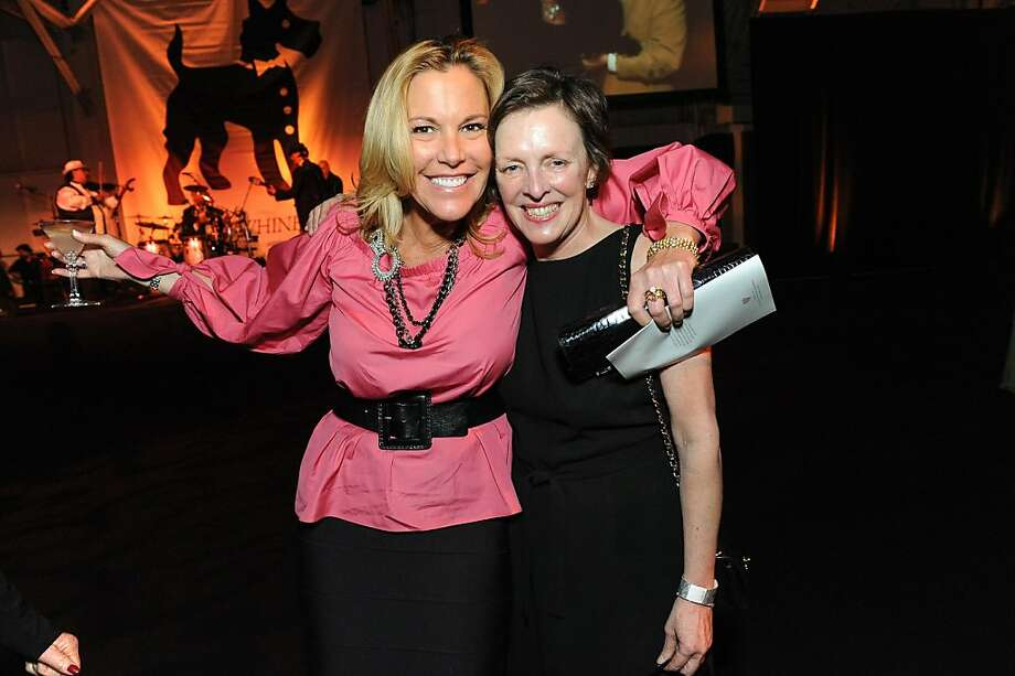 Denise Zanze and Sharol McQuarrie at the San Francisco SPCA's Bark & Whine Ball 2013. Photo: Drew Altizer Photography