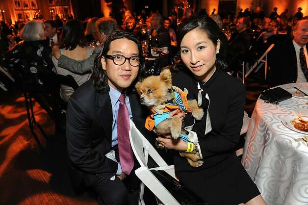 Young and Jennifer Chung at the San Francisco SPCA's Bark & Whine Ball 2013. Photo: Drew Altizer Photography