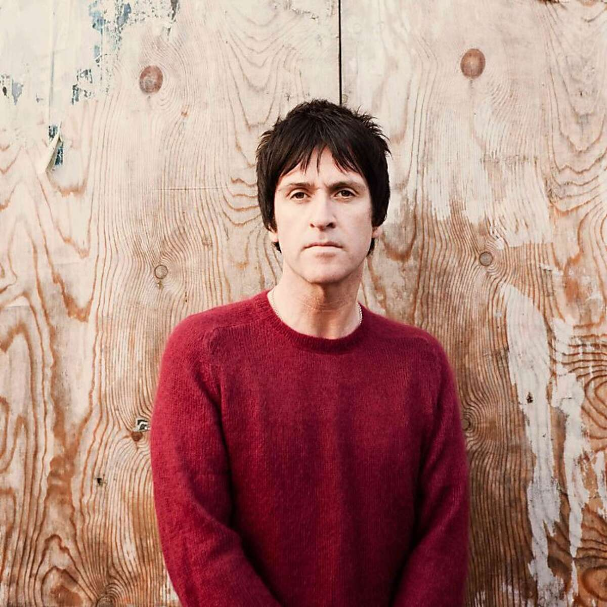 Johnny Marr. Johnny Marr's new solo album is called The Messenger.