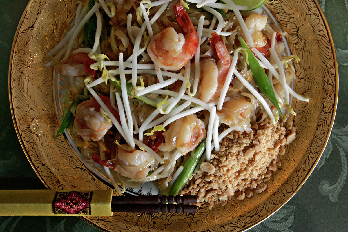 Bangkok Cuisine : 8214 Pat Booker Road between Village Oak Drive and Loop 1604, Live Oak, 210-599-8884 Why we like it: If this isn't the best Thai restaurant in the San Antonio area, it's at the top of a very short list. Chef and owner Varaluck Kaowsan spends much time selecting the best ingredients she can find, and the effort shows. Wide-ranging menu offers happiness in many forms.