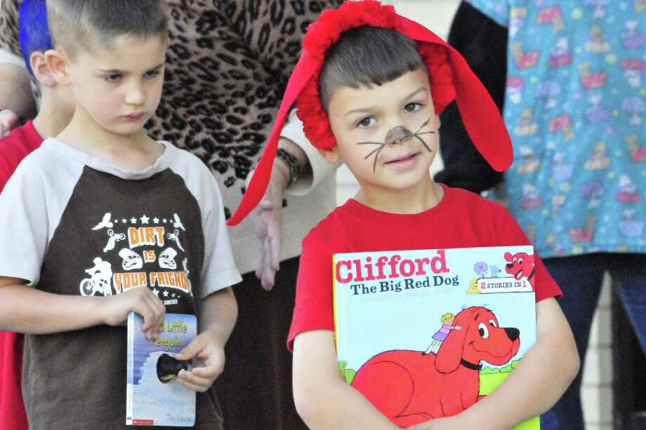 The Lumberton Early Childhood School held a Storybook Character Day Parade on Thursday morning. Students dressed as a character from their favorite book and held a parade for parents at the school. Photo: Cassie Smith