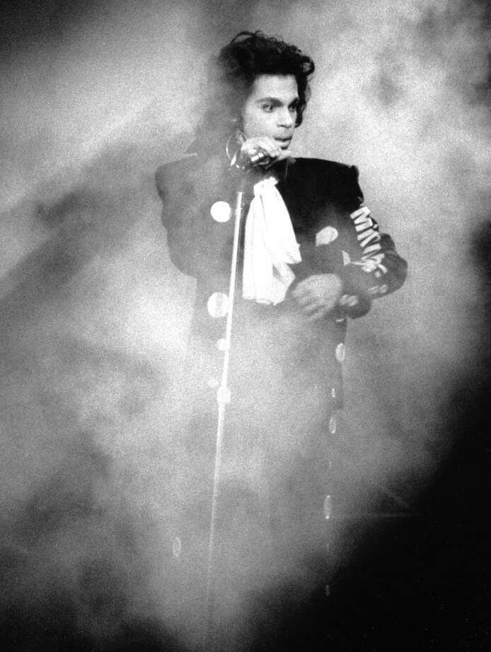 Musician Prince performs live at Wembley Arena on July 28, 1988 in London, England. (Photo by David Corio/Michael Ochs Archives) Photo: David Corio, Getty Images / Michael Ochs Archives