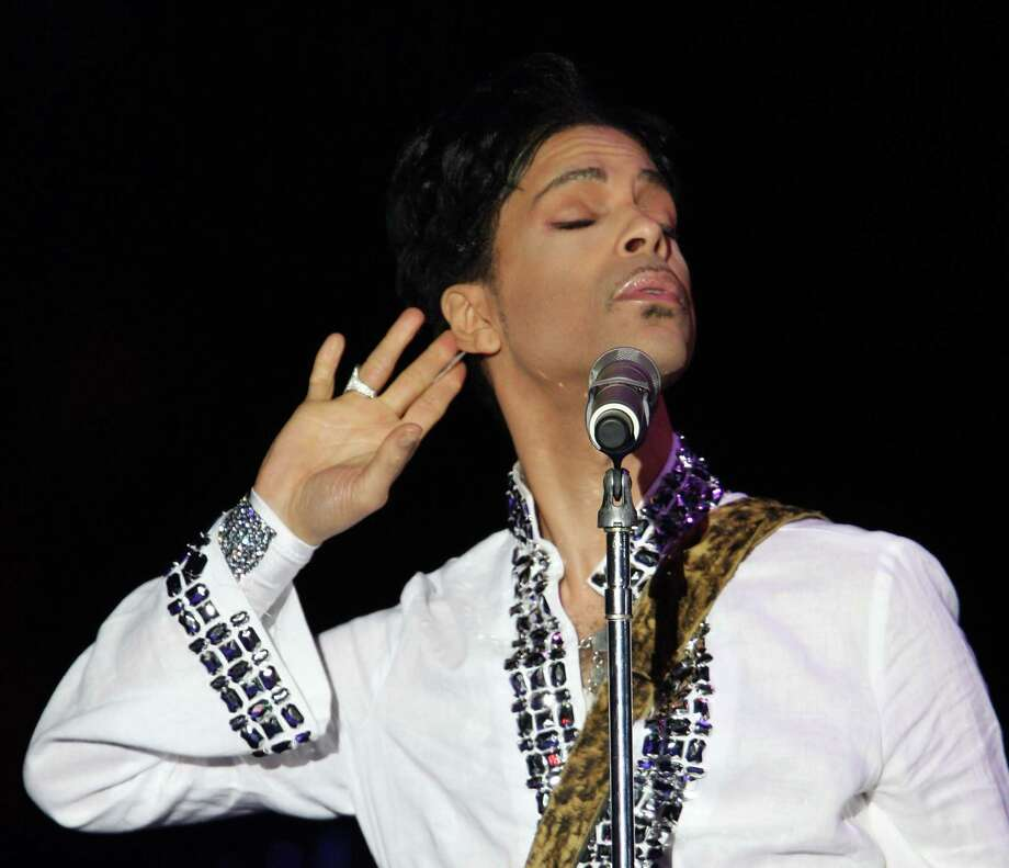 Prince performs during day 2 of the Coachella Valley Music and Arts Festival held at the Empire Polo Field on April 26, 2008 in Indio, California.  (Photo by John Shearer/WireImage) Photo: John Shearer, Getty Images / 2008 WireImage