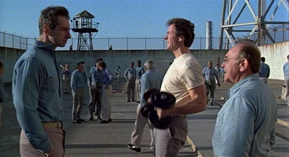 ESCAPE FROM ALCATRAZ (1979) - Clint Eastwood teamed up with his frequent collaborator, director Don Siegel, for this possibly true story of the only successfully prison break from the notorious prison in 'Escape from Alcatraz.' Hugely entertaining and wildly underrated.